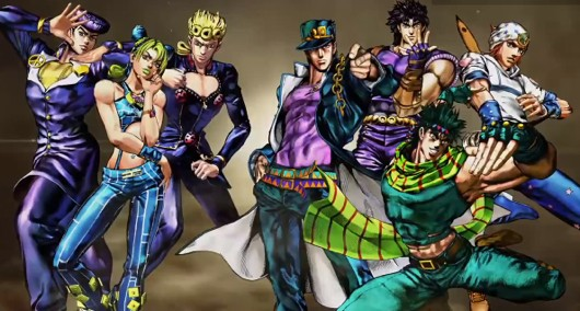 Jojo's Bizarre Adventure hits Japan August 29