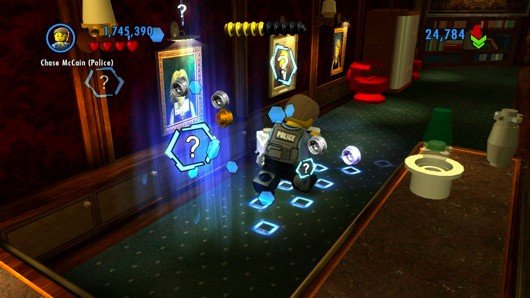 A loose cannon snaps into place in Lego City Undercover