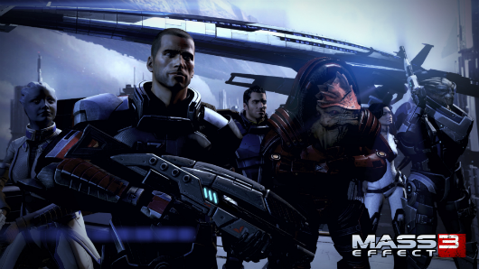 Mass Effect 3 Citadel DLC Update