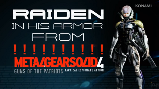 Metal Gear Rising gets Metal Gear Solid 4 armor DLC