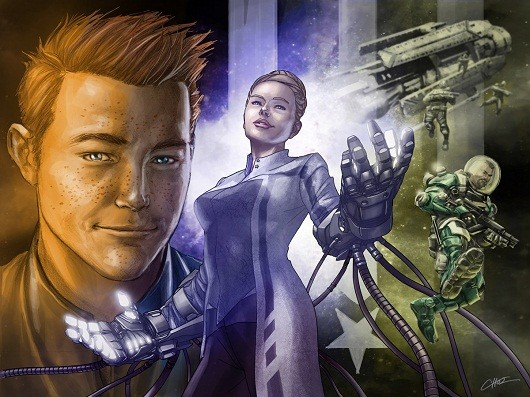 Morning Star comic app weaves into the game, from John Scalzi and Marvel's Mike Choi