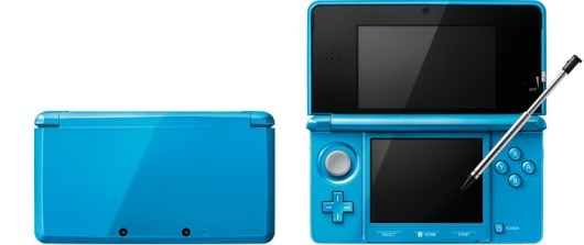 3DS Light Blue, Gloss Pink models announced for Japan