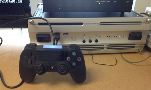 Report PlayStation 4 controller caught on camera
