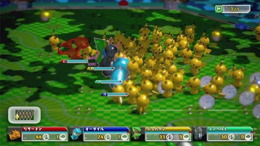 Pokmon Rumble U screens feature a whole bunch of Pikachu