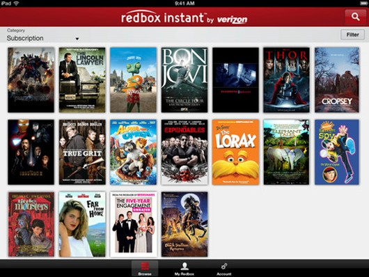 Redbox Instant Xbox 360 app on the way