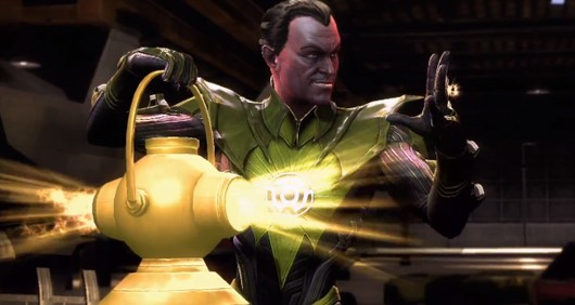 Injustice Gods Among Us adds Sinestro to the roster