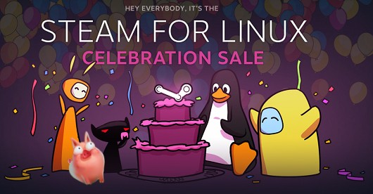 Steam for Linux sale Amnesia, FTL, TF2, Sword and Sworcery, more