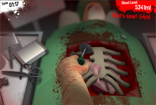 Steam Greenlight goes internal Surgeon Simulator 2013, Organ Trail