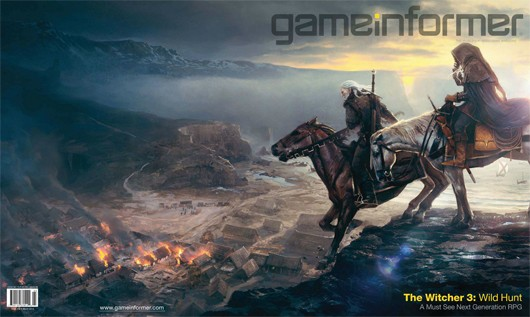 The Witcher 3 Wild Hunt outed by Game Informer