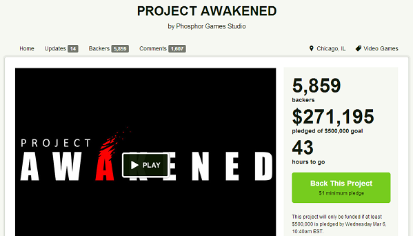 On the brink What's next if Project Awakened can't save the world