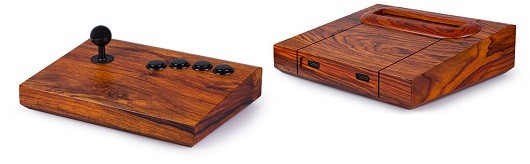 Neo Geo custom wood mods are pretty insane