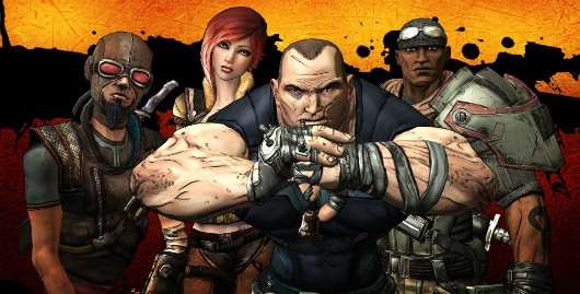 Gearbox previews the original heroes of Borderlands
