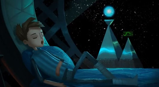 Broken Age offers partial view in first trailer