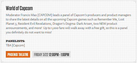 PAX East full schedule up, Capcom announcing 2 new games