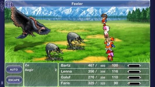 PSA Final Fantasy V out now on iOS, priced $1599