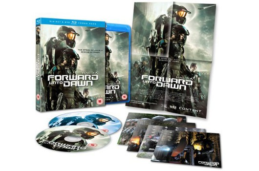 Halo 4 Forward Unto Dawn DVDBluray bundle coming to Europe