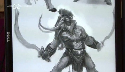 Creating God of War Ascension's elephant minotaur thing