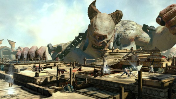 God of War Ascension review Spectacle slipstream