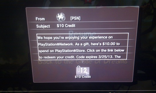 Sony rolls out another batch of free PSN credit in North America