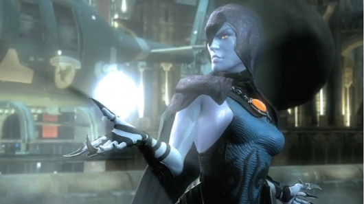Injustice Gods Among Us' latest character reveal is so Raven