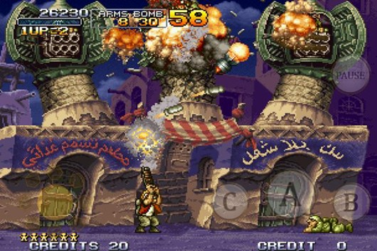 Metal Slug X runs and guns to iOS, Android