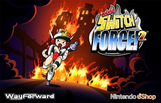 Mighty Switch Force 2 screens reveal Officer Wagon's change of vocation