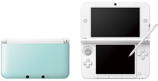 Mint white 3DS XL freshens Japan next month