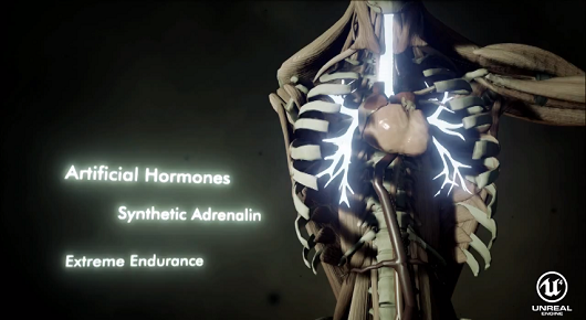 Project Awakened's Unreal Engine 4 tech demo is impressive, gross