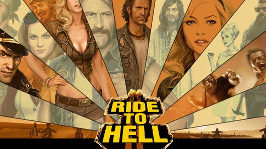 Ride to Hell achievements listing indicates imminent ride to retail