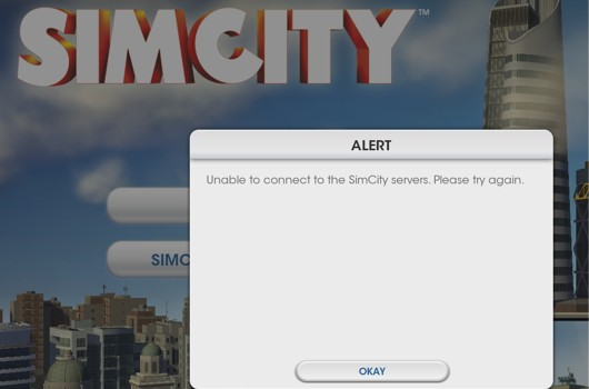 SimCity's always-online DRM screw-up