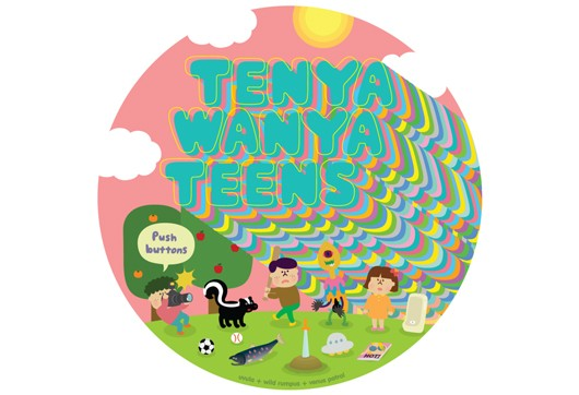 Tenya Wanya Teens is the new Keita Takahashi game