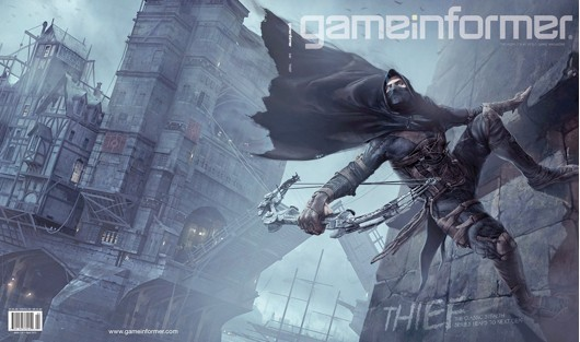 'Thief' graces cover of latest Game Informer