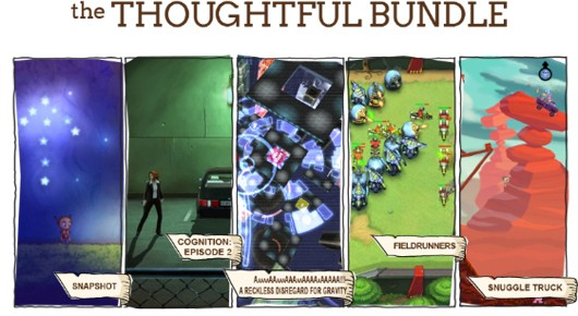 Indie Royale Thoughtful Bundle Fieldrunners, Reckless Disregard for Gravity, more