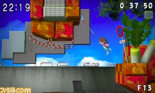 Fishgrappling platformer Umihara Kawase returns on 3DS