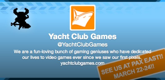 WayForward staffers form Yacht Club Games