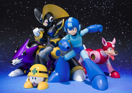 Mega Man Bass and Treble figures join the fight this summer