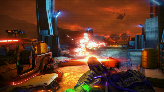 Rumor Far Cry 3 Blood Dragon screens are neon insanity