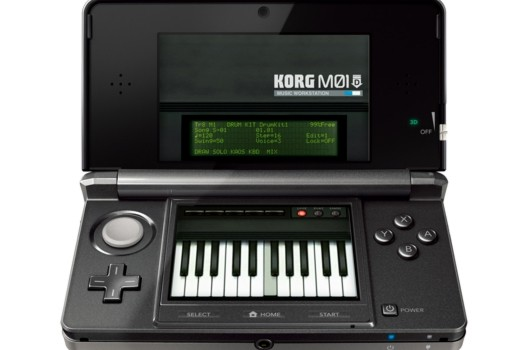 Korg M01D synthesizer coming to 3DS eShop
