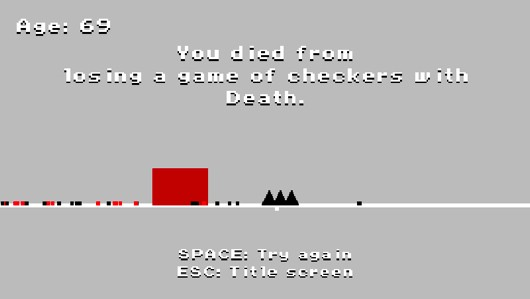 George Broussard goes minimalist in Ludum Dare entry 'The Road'