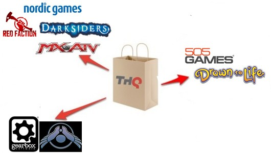 THQ auction results Nordic Games takes Darksiders, Red Faction 505 Games is Drawn to Life