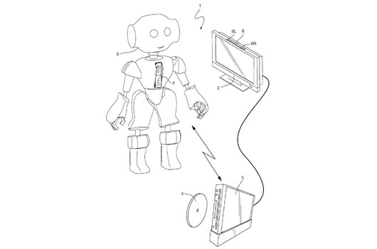 Nintendo patents remotely controlled mobile device control system