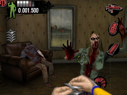 Shinobi, Vectorman battle zombies in mobile House of the Dead addons