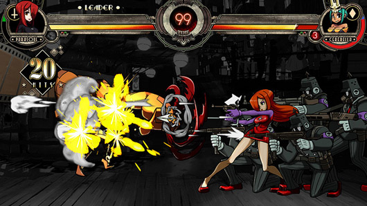 Skullgirls character color packs hit PSN, balance patch out on XBLA