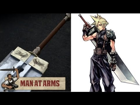 Man at Arms builds 80pound replica of Final Fantasy VII's Buster Sword