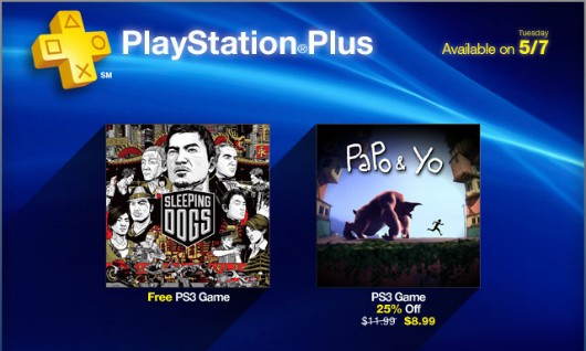 PS Plus May update Sleeping Dogs free