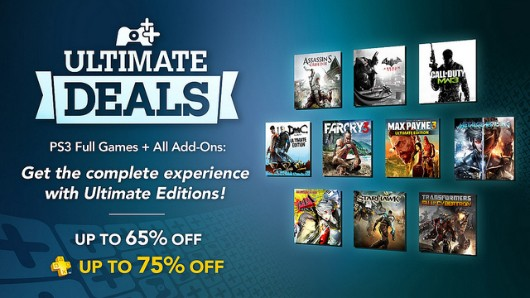 Ultimate Editions decimate PSN DMC, AC3, Persona 4 Arena, 7 more