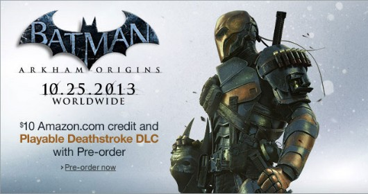 Amazon listing shows Deathstroke playable in Arkham Origins