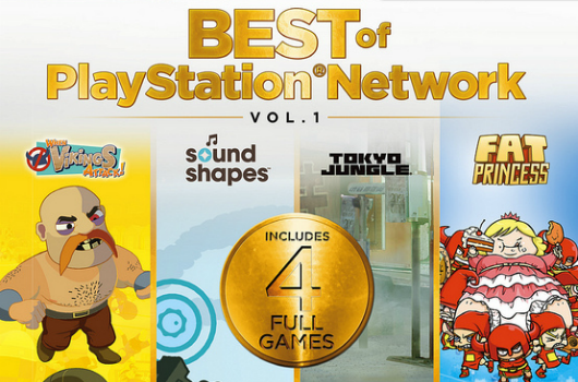 Best of PlayStation Network Vol 1 coming to retail next month