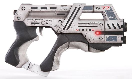 Limited edition Mass Effect 3 Paladin pistol replica available for preorder
