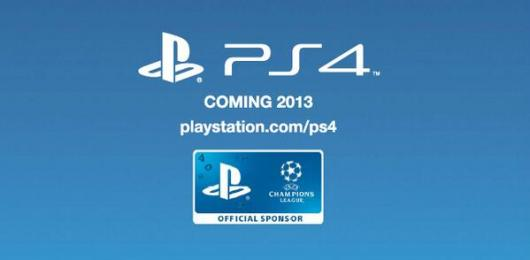 PlayStation Europe PS4 ad says 'Coming 2013'